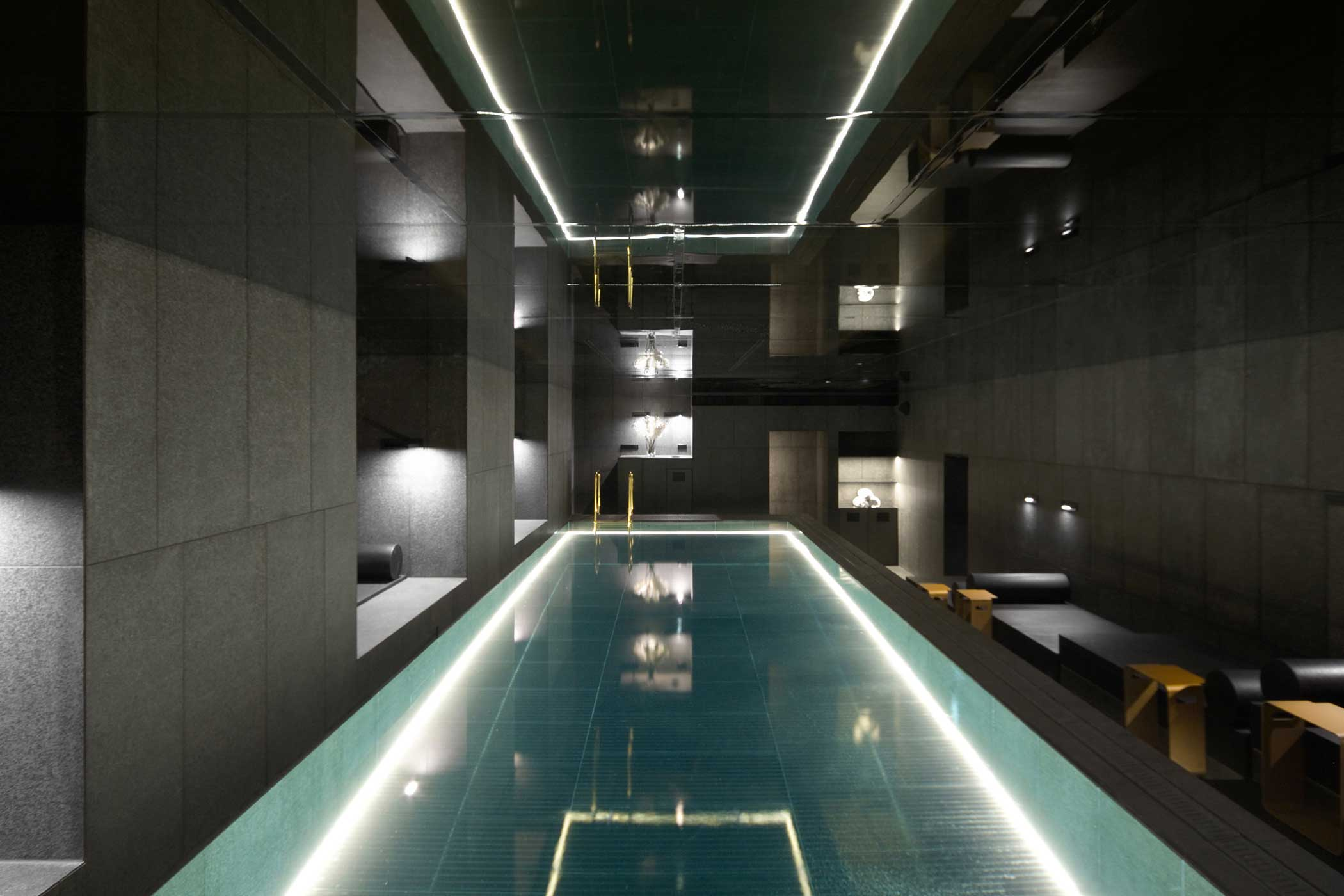 Heated Indoor Pool at W Amsterdam AWAY Spa