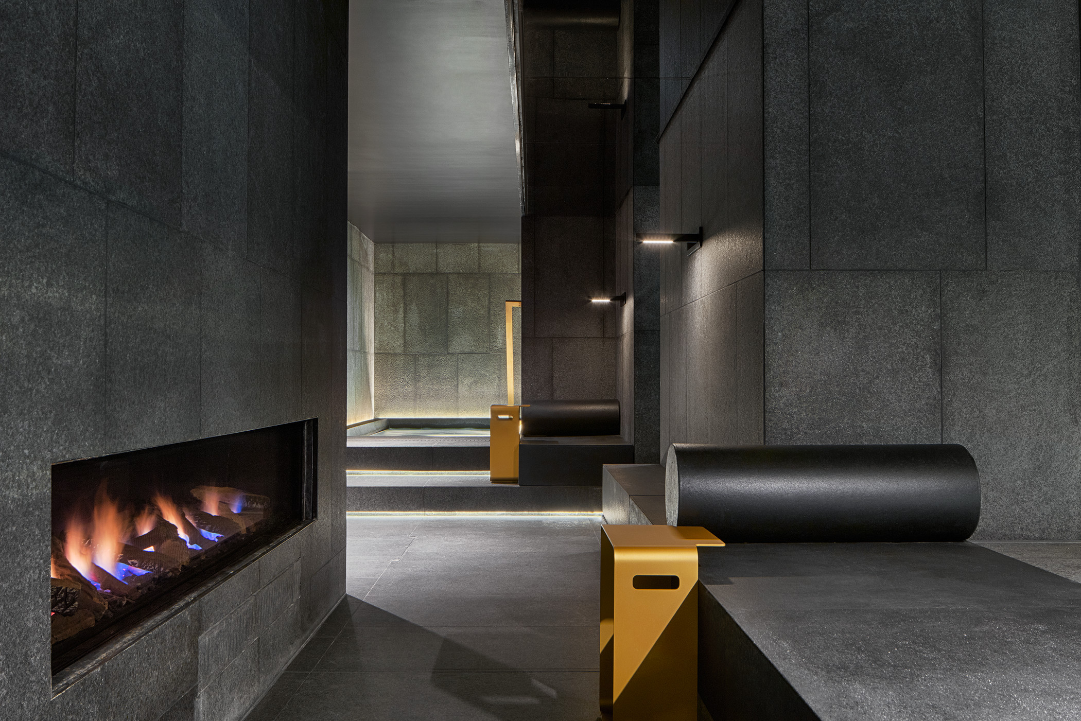 Away Spa Fireplace